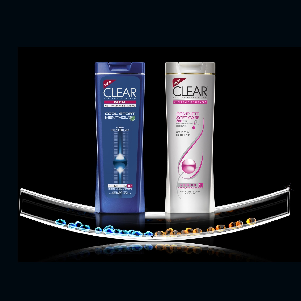 Clear Shampoo Free Fragrance Hypoallergenic Complete Soft Care Men 170 Ml Download